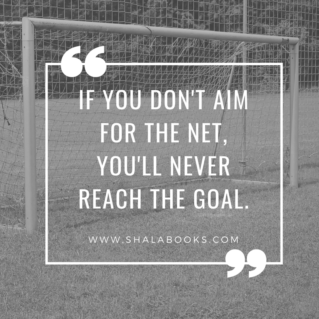 If you don't aim for the net ...