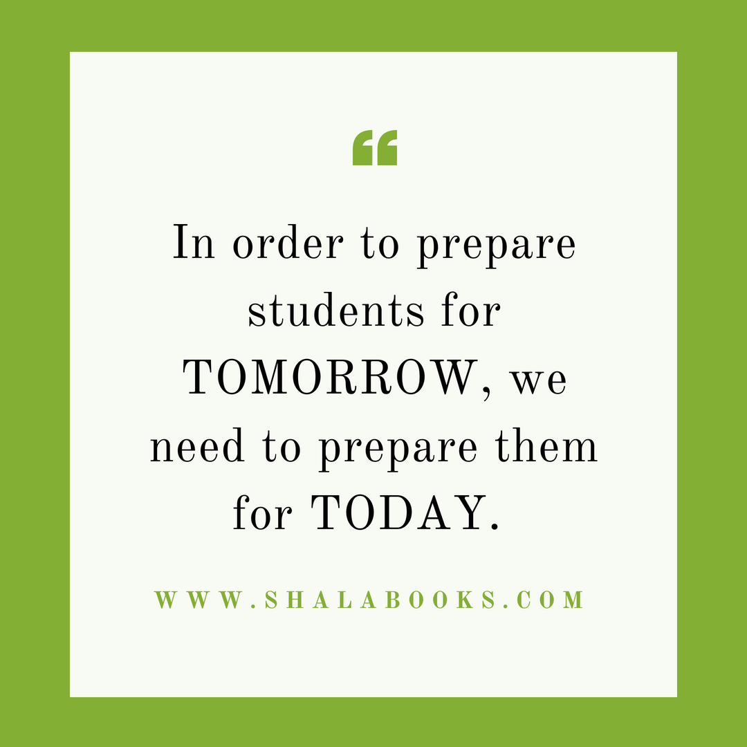 In order to prepare students ...