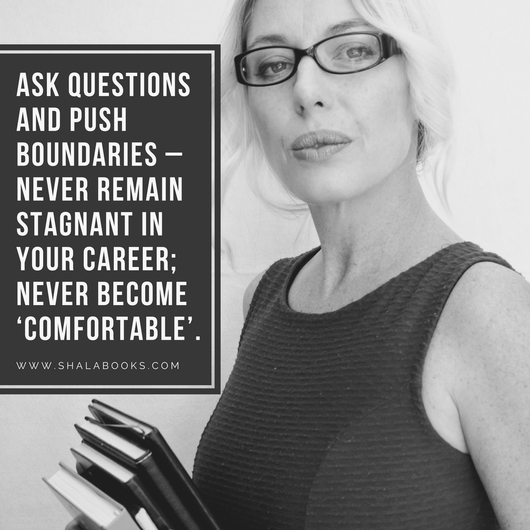 Ask question and push ...