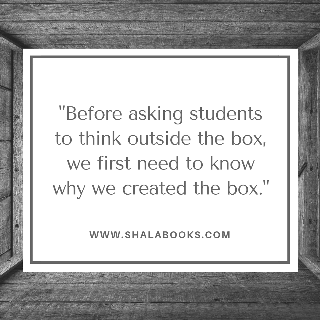 Before asking students ...