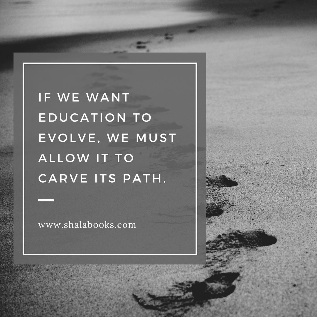 If we want education to ...