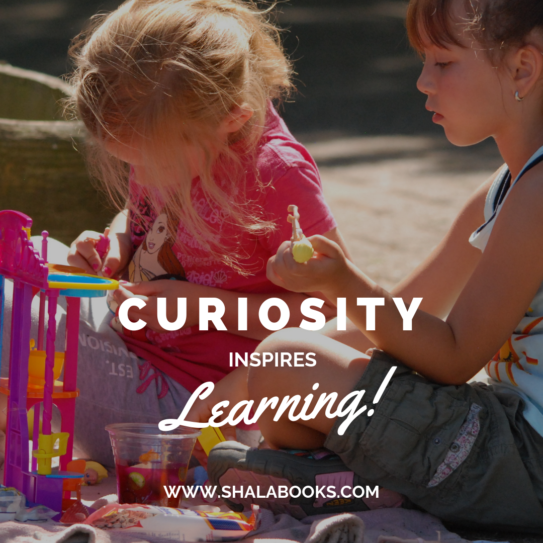 Curiosity inspires learning!