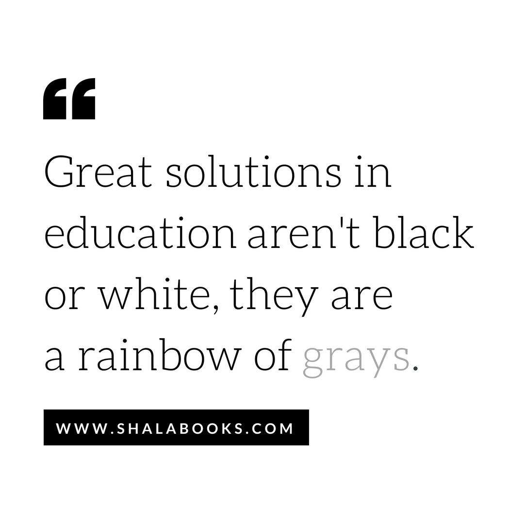 Great solutions in education ...