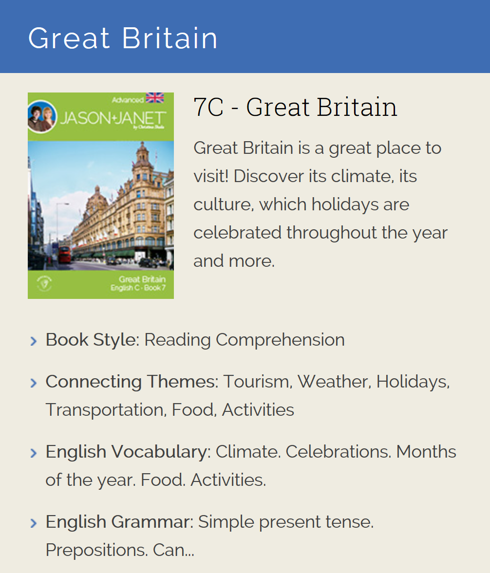 Great Britain - ESL eBook