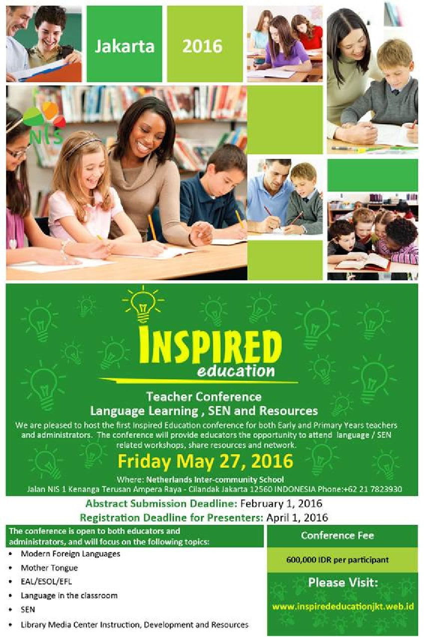Inspired Education Conference