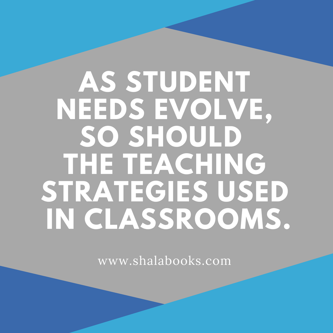 As student needs evolve ...