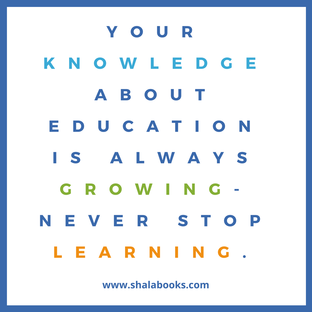 Your knowledge about education ...