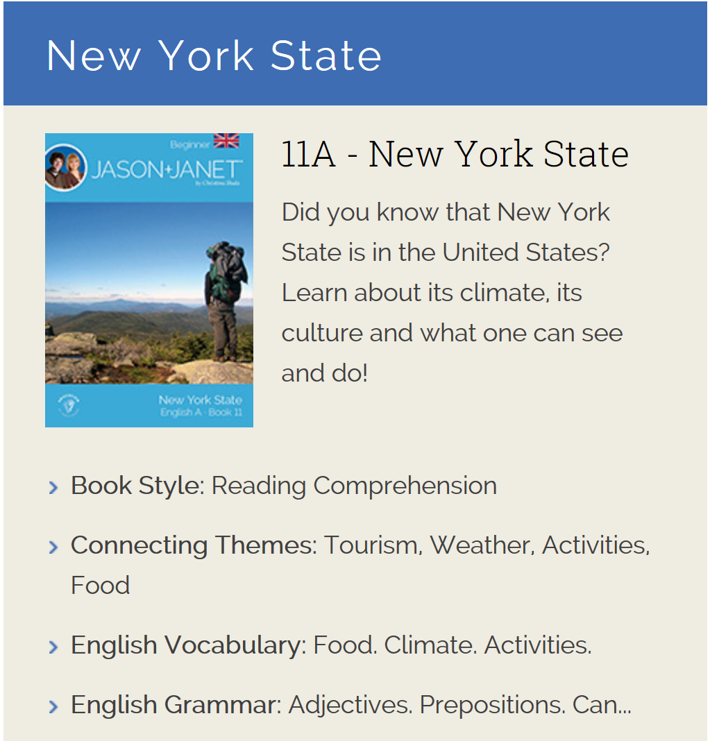 New York State - ESL eBook