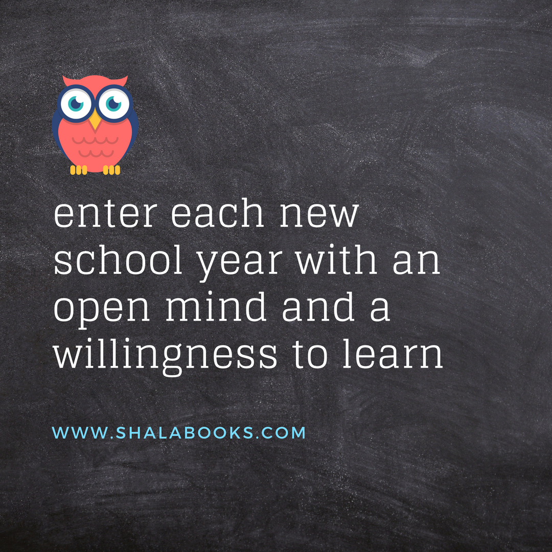 Enter each new school year ...