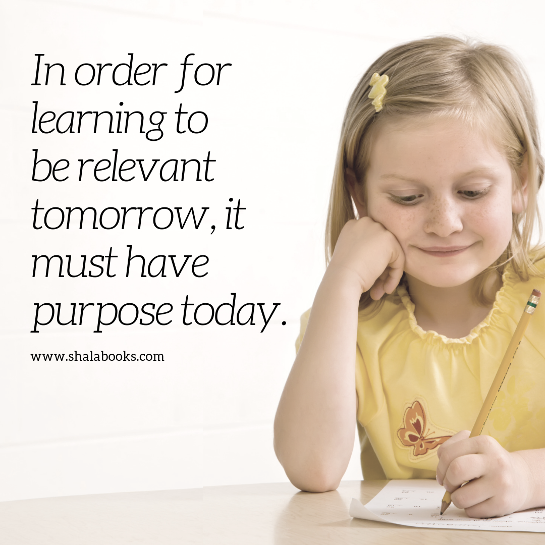 In order for learning ...