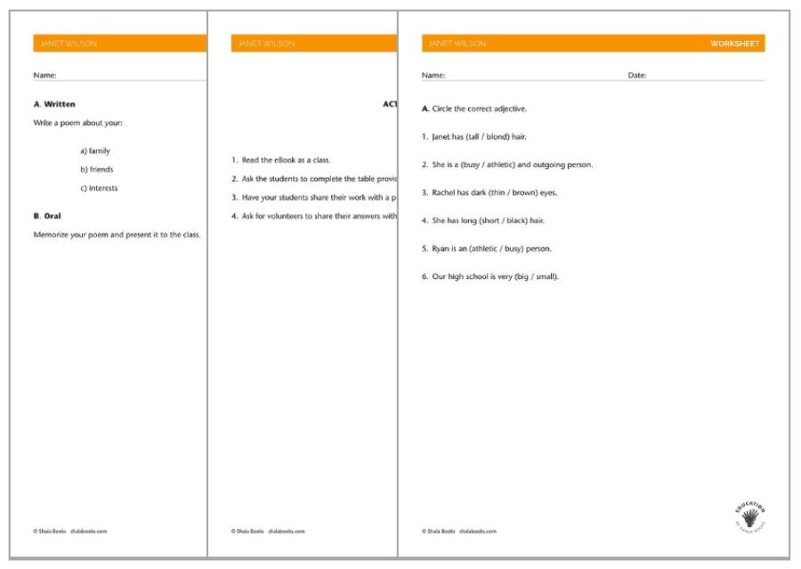 English As A Second Language (ESL) - Worksheets, Lesson Plans & Assessments